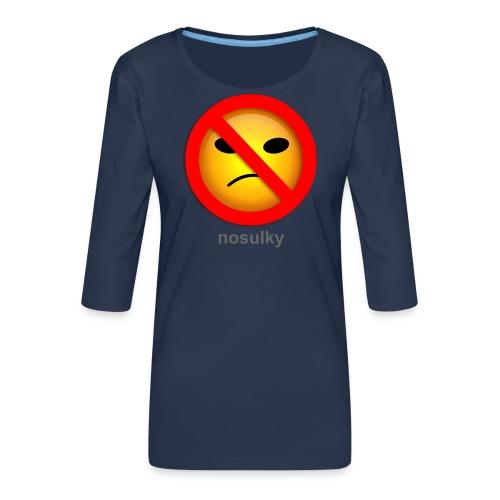 nosulky - T-shirt Premium manches 3/4 Femme