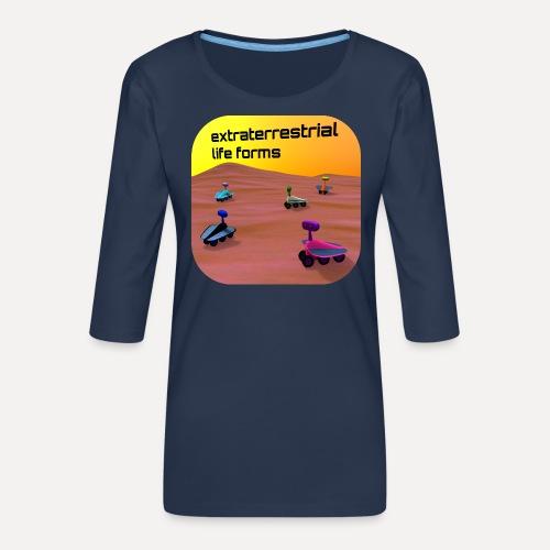 Leben auf dem Mars - Women's Premium 3/4-Sleeve T-Shirt