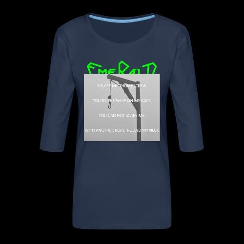 Emerald - Frauen Premium 3/4-Arm Shirt