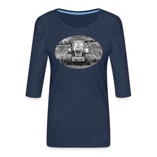 Ackerschlepper - Frauen Premium 3/4-Arm Shirt