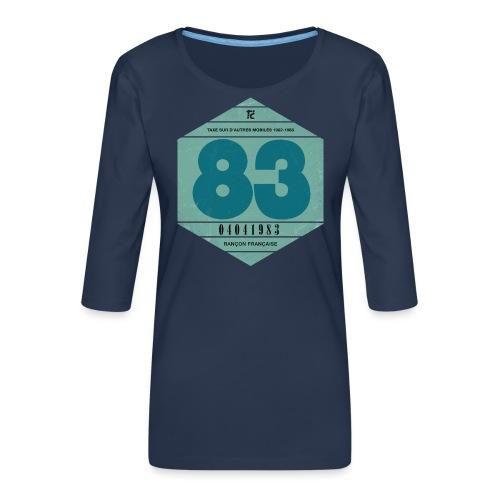 Vignette automobile 1983 - T-shirt Premium manches 3/4 Femme