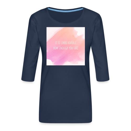 The Perfect Gift - Women's Premium 3/4-Sleeve T-Shirt