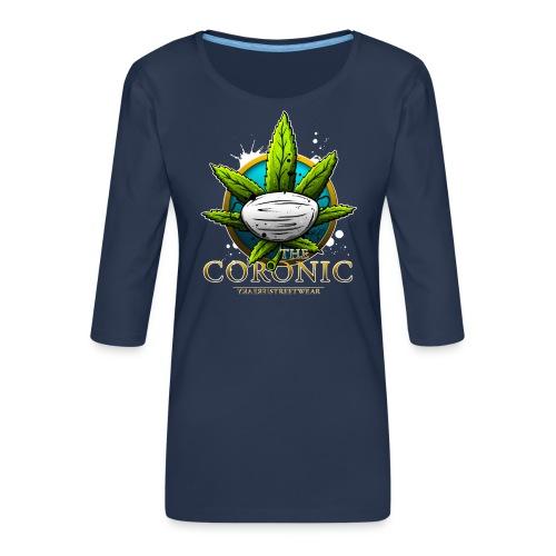 the coronic - Frauen Premium 3/4-Arm Shirt