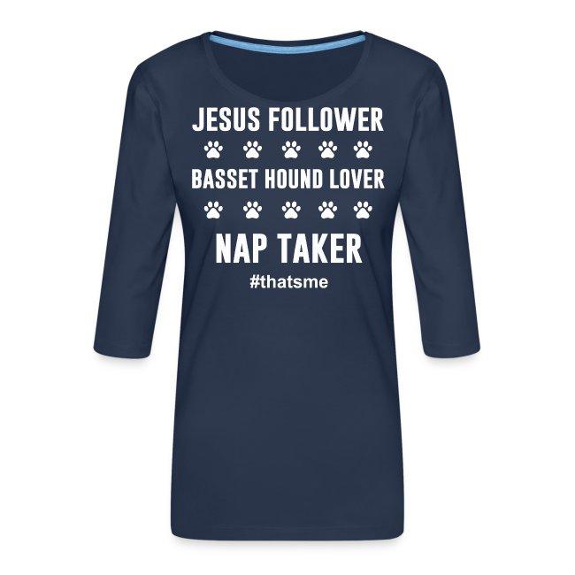 Jesus follower Basset hound lover nap taker