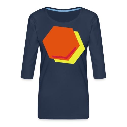 detail2 - Vrouwen premium shirt 3/4-mouw