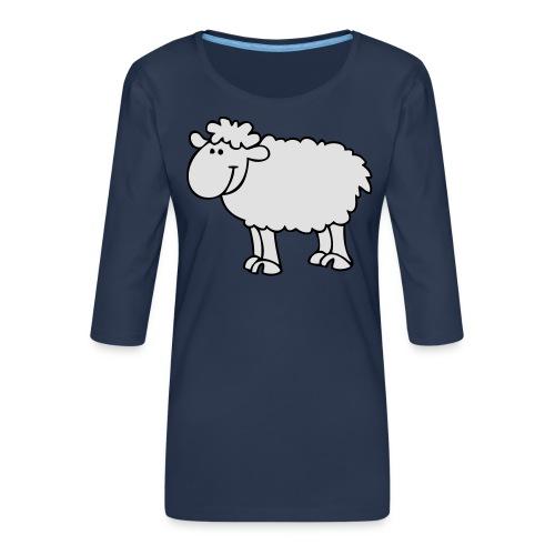 Schaf2 - Frauen Premium 3/4-Arm Shirt
