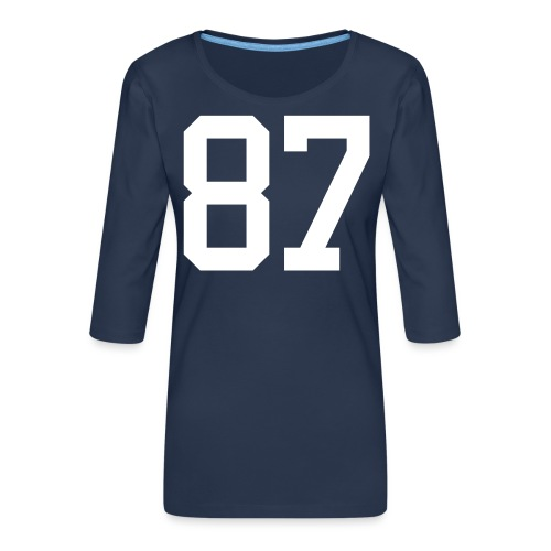 87 LEBIS Jan - Frauen Premium 3/4-Arm Shirt