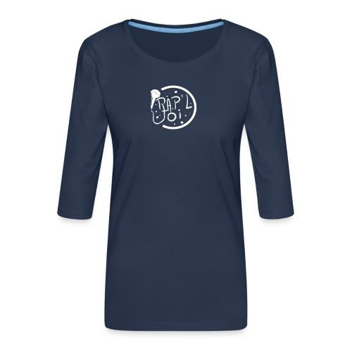 Survet Logo Rap - T-shirt Premium manches 3/4 Femme