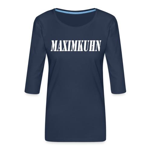 maximkuhn - Vrouwen premium shirt 3/4-mouw