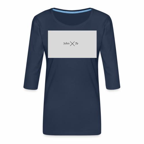 john tv - Women's Premium 3/4-Sleeve T-Shirt