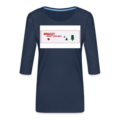 Christmas Exclusive - Women's Premium 3/4-Sleeve T-Shirt