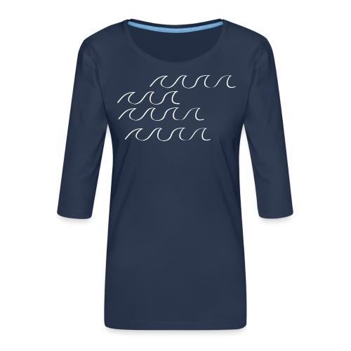 Weißwasser - Frauen Premium 3/4-Arm Shirt