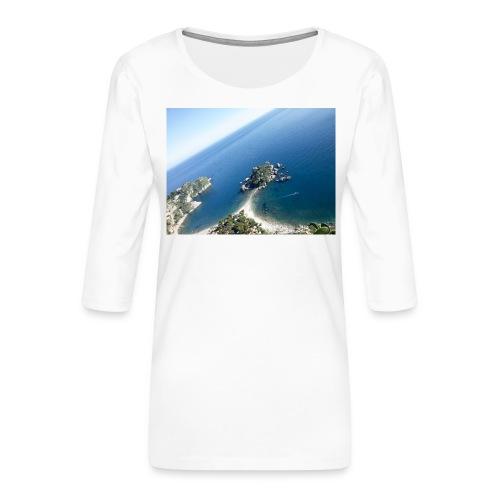 20151108_125732-jpg - Maglietta da donna premium con manica a 3/4