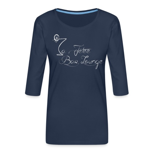 La Jetée Bar lounge - T-shirt Premium manches 3/4 Femme