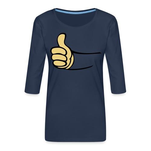Vault - Vrouwen premium shirt 3/4-mouw