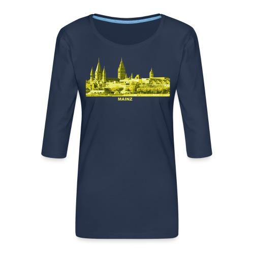 Mainz Rheinland-Pfalz LandeshauptstadtDom - Frauen Premium 3/4-Arm Shirt