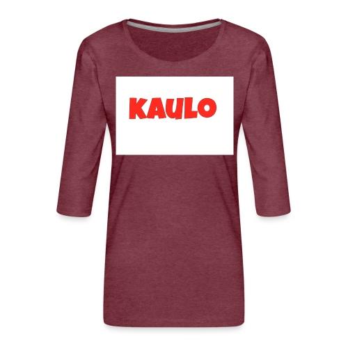 kaulo - Vrouwen premium shirt 3/4-mouw