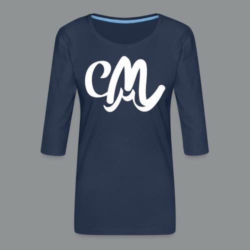 Kinder/ Tiener Shirt Unisex (voorkant) - Vrouwen premium shirt 3/4-mouw