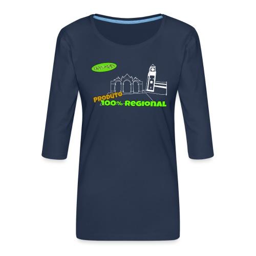 Dark City Gates - Women's Premium 3/4-Sleeve T-Shirt