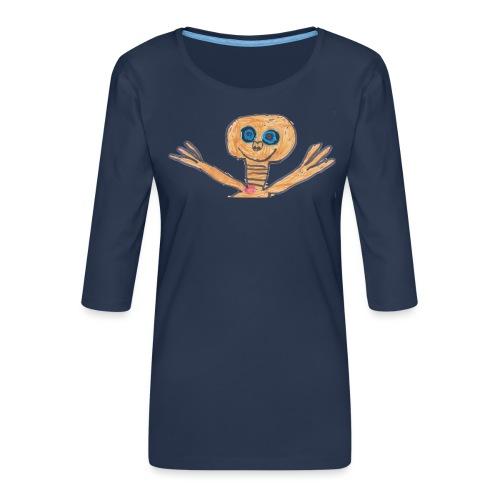 E.T. von Raban - Frauen Premium 3/4-Arm Shirt