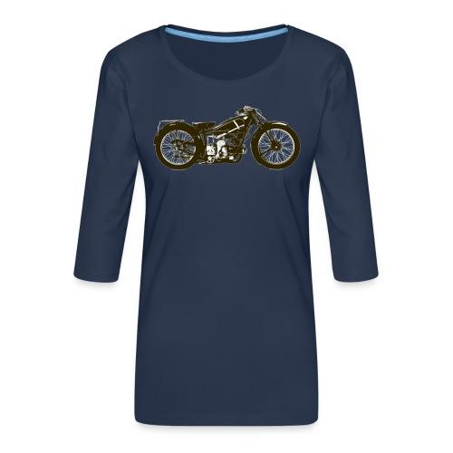 Classic Cafe Racer - Women's Premium 3/4-Sleeve T-Shirt