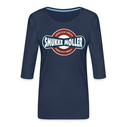 smlogo - Dame Premium shirt med 3/4-ærmer