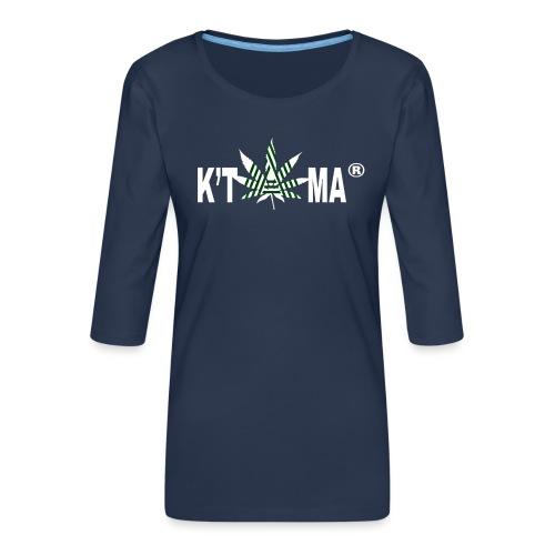 K'TAMA - T-shirt Premium manches 3/4 Femme