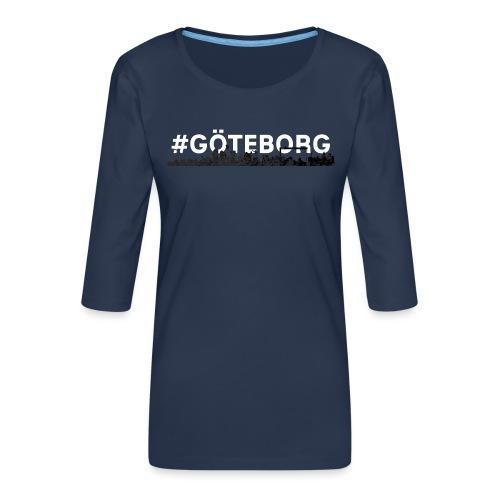 Göteborg - Women's Premium 3/4-Sleeve T-Shirt
