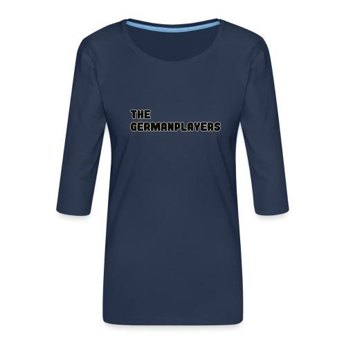 TITLE ONLY 4 FANS - Frauen Premium 3/4-Arm Shirt