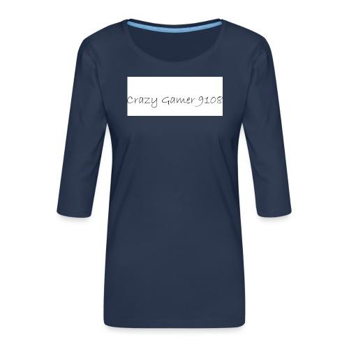 Crazy Gamer 9108 new merch - Women's Premium 3/4-Sleeve T-Shirt
