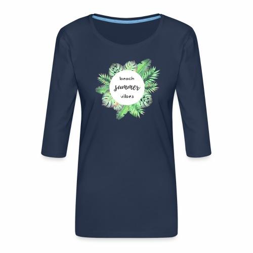 beach vibes - Frauen Premium 3/4-Arm Shirt