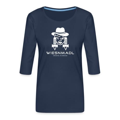 WUIDBUZZ | Wiesmadl | Frauensache - Frauen Premium 3/4-Arm Shirt