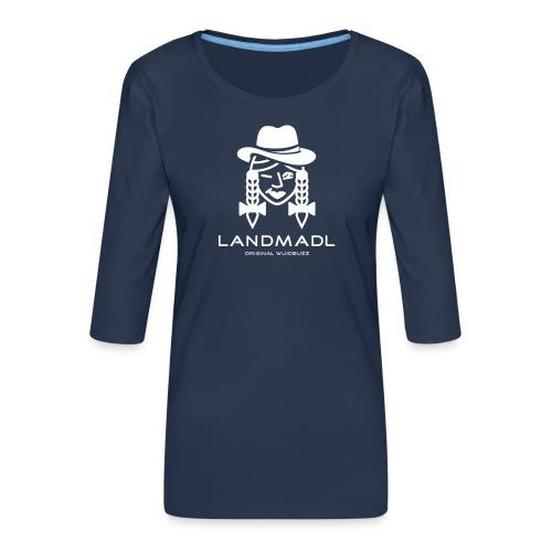 WUIDBUZZ | Landmadl | Frauensache - Frauen Premium 3/4-Arm Shirt