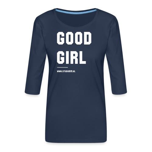 TANK TOP GOOD GIRL - Vrouwen premium shirt 3/4-mouw