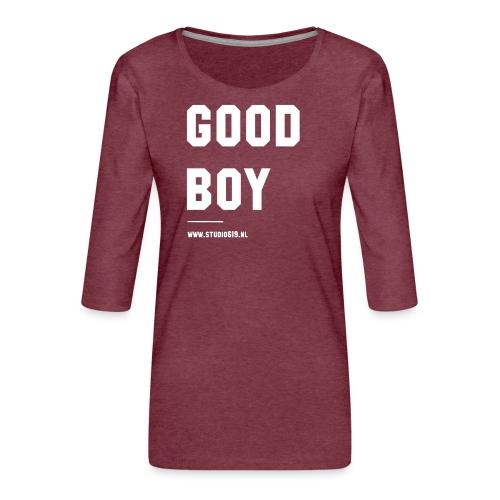 TANK TOP GOOD BOY - Vrouwen premium shirt 3/4-mouw