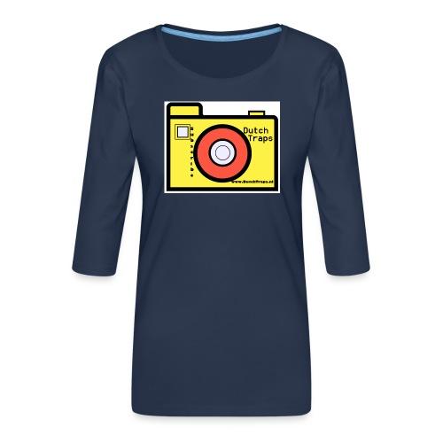 T-shirt DutchTraps - Vrouwen premium shirt 3/4-mouw