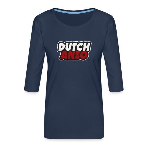 dutchanzo - Vrouwen premium shirt 3/4-mouw