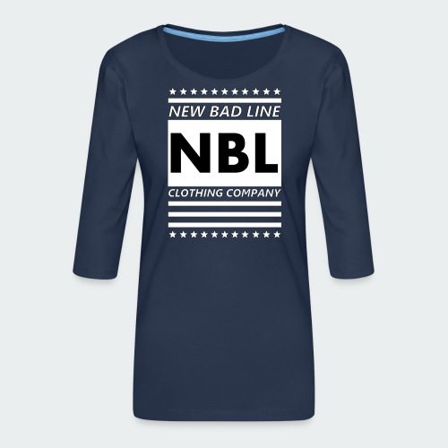 Męska Koszulka Premium New Bad Line - Koszulka damska Premium z rękawem 3/4