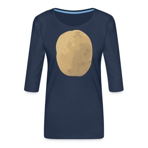Aardappel - Vrouwen premium shirt 3/4-mouw