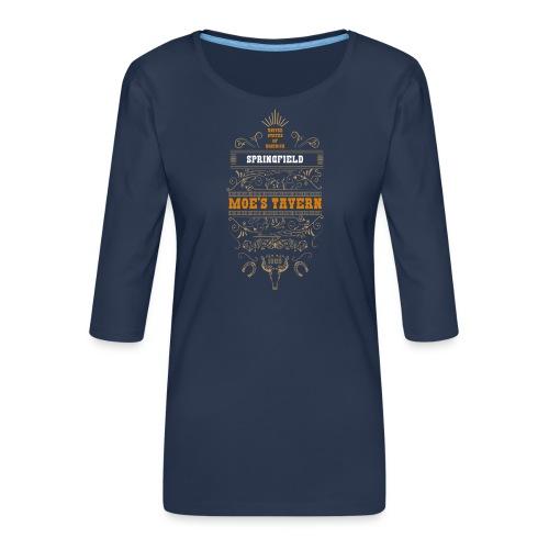 Springfield Moe's Tavern - Koszulka damska Premium z rękawem 3/4