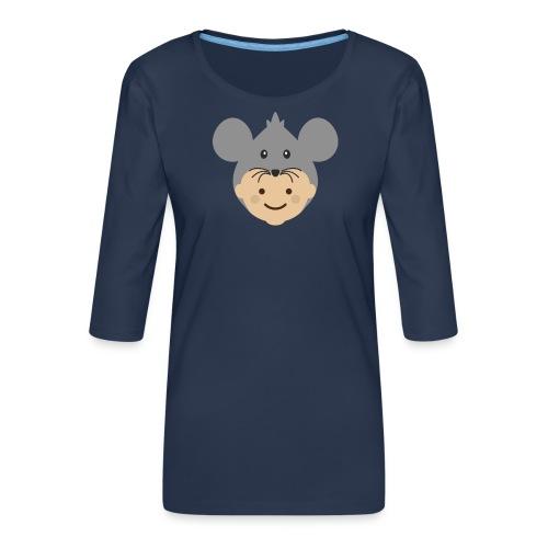 Mr Mousey | Ibbleobble - Women's Premium 3/4-Sleeve T-Shirt