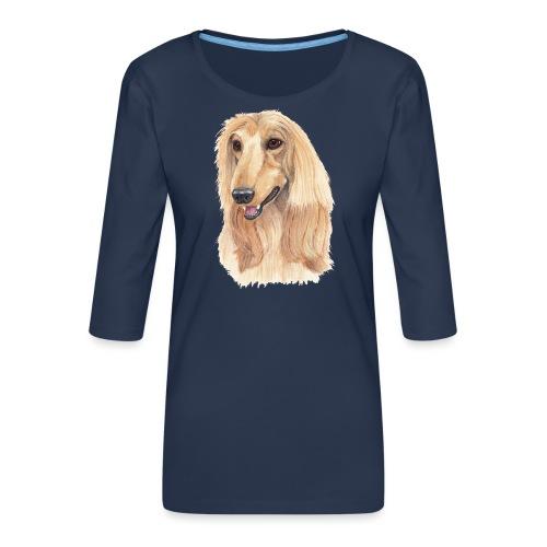 afghanskMynde- A - Dame Premium shirt med 3/4-ærmer