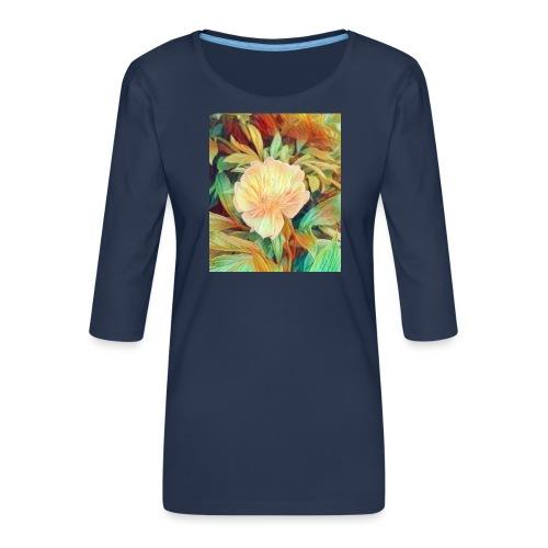 Flower - Frauen Premium 3/4-Arm Shirt