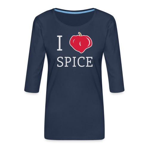 i_love_spice-eps - Naisten premium 3/4-hihainen paita