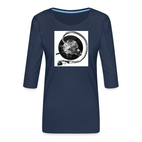 120dpiliebrandslarm - Vrouwen premium shirt 3/4-mouw