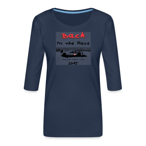 919 back in the race 2 - T-shirt Premium manches 3/4 Femme