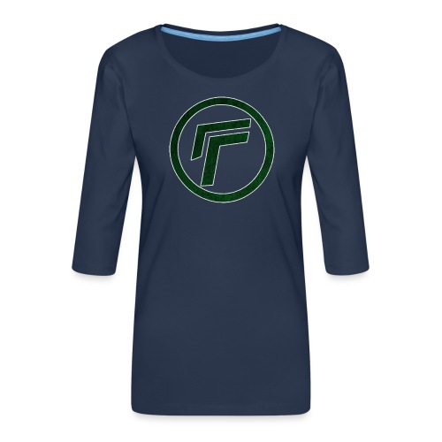 Naamloos 1 png - Women's Premium 3/4-Sleeve T-Shirt