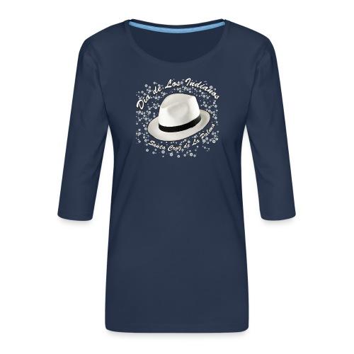 Dia de Los Indianos - Frauen Premium 3/4-Arm Shirt