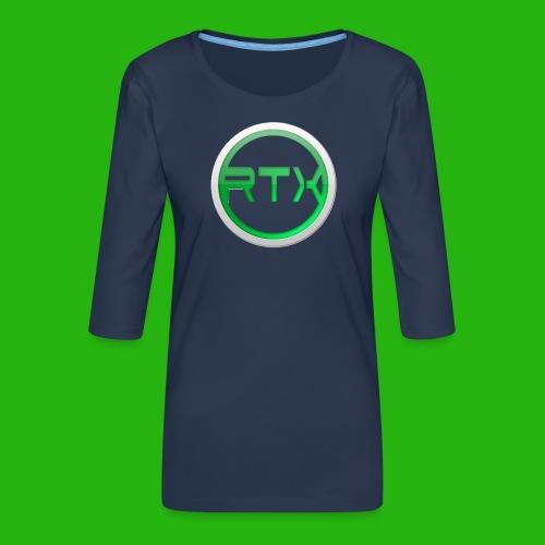 Logo Shirt - Women's Premium 3/4-Sleeve T-Shirt