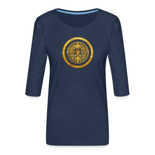 Ikko Ikki Mon Japanese clan - Women's Premium 3/4-Sleeve T-Shirt